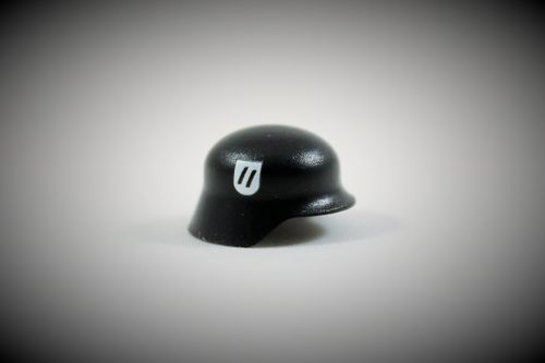 "Printed ""Elite"" Stahlhelm (Color: Black)"