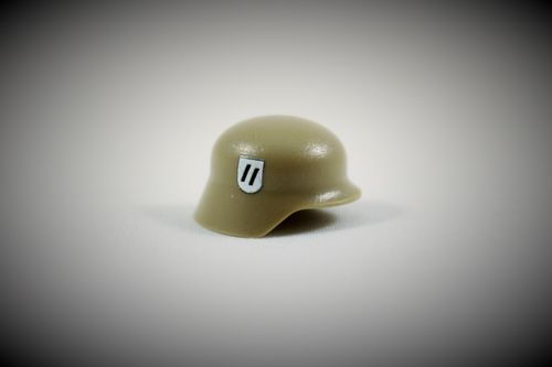 "Printed ""Elite"" Stahlhelm (Color: Dark Tan)"