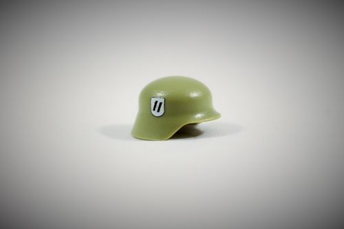 "Printed ""Elite"" Stahlhelm (Color: Light Green)"