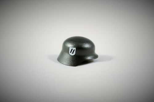 "Printed ""Elite"" Stahlhelm (Color: Gunmetal)"