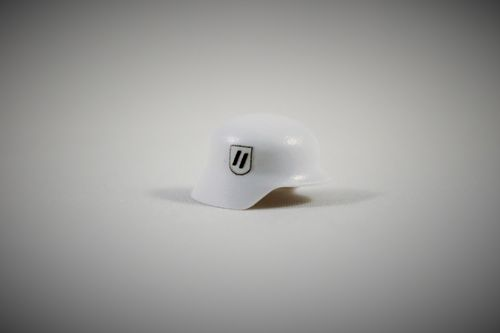 "Printed ""Elite"" Stahlhelm (Color: White)"