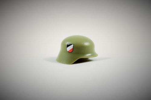 "Printed ""Luftwaffe"" Stahlhelm (Color: Light Green)"