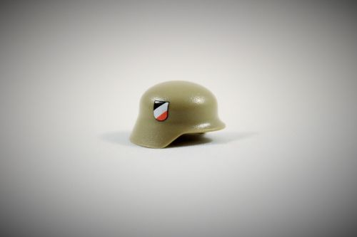 "Printed ""Luftwaffe"" Stahlhelm (Color: Dark Tan)"