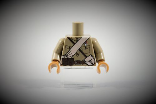 Torso Russian Army Soldier 1 out of LEGO® bricks