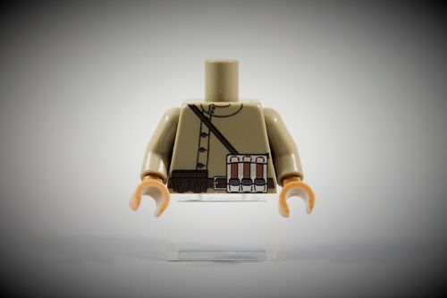 Torso Russian Army Soldier 2 out of LEGO® bricks