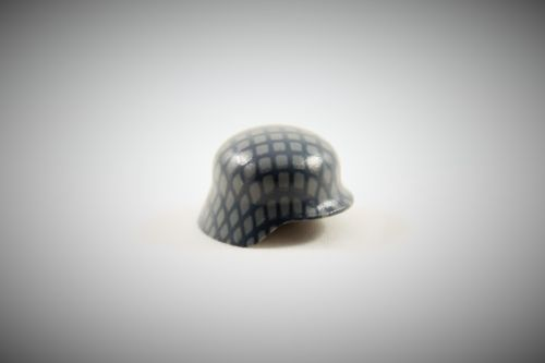 "Printed ""Netted Stahlhelm"" (Color: Grey)"