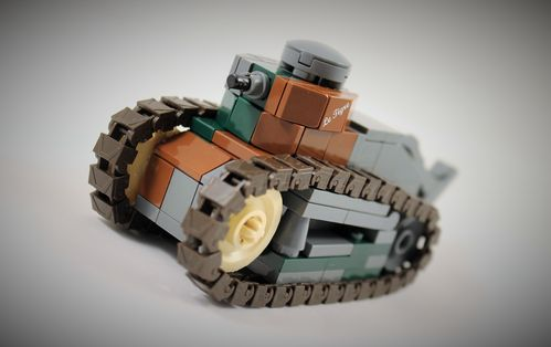 "Custom WWII ""Renault FT"" by ""Jos"" out of LEGO® bricks"