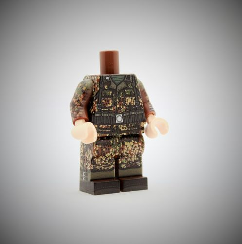 "MINIFIG.CO ""WWII Dot44 Kar98 Body"" out of printed LEGO® bricks"