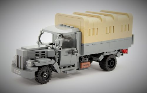 Custom WWII Opel Blitz III out of LEGO® bricks